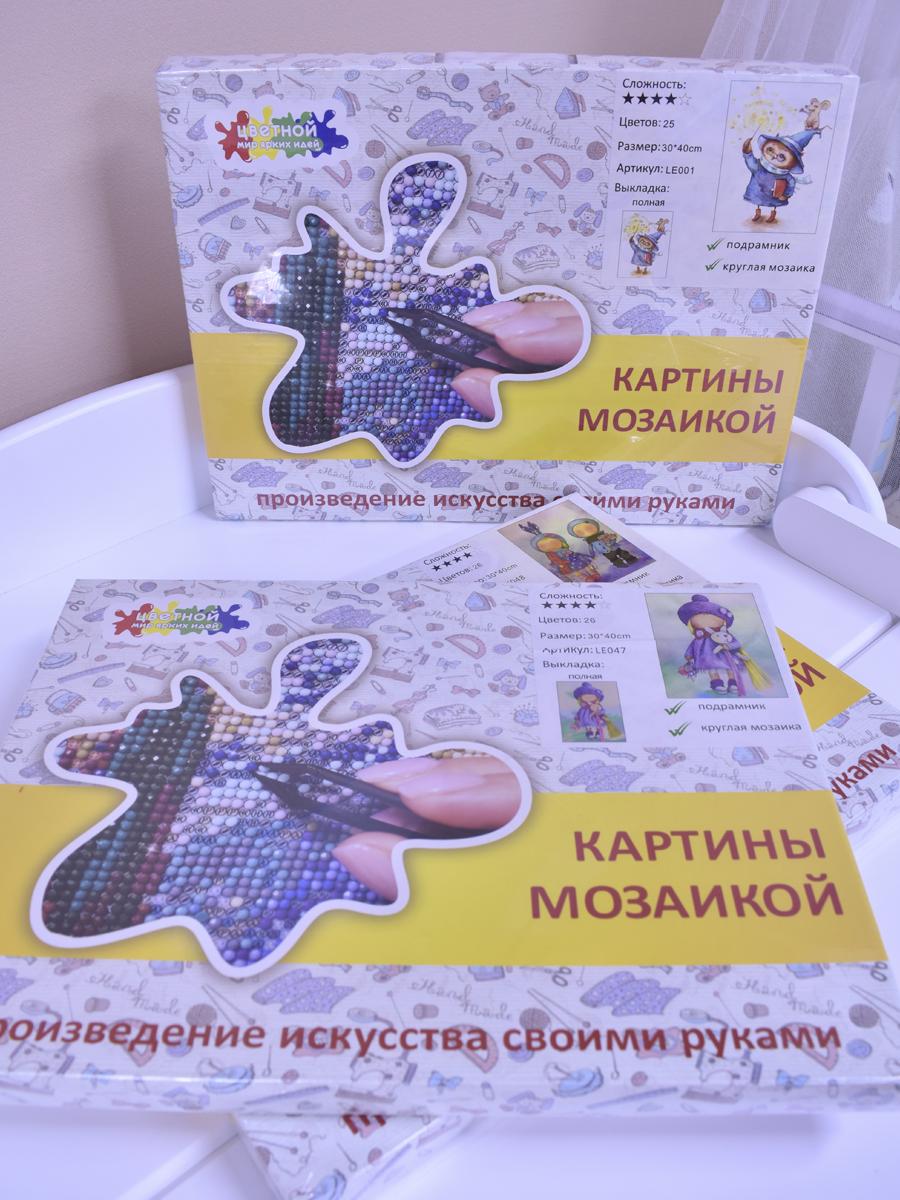 картина мозаикой Москва