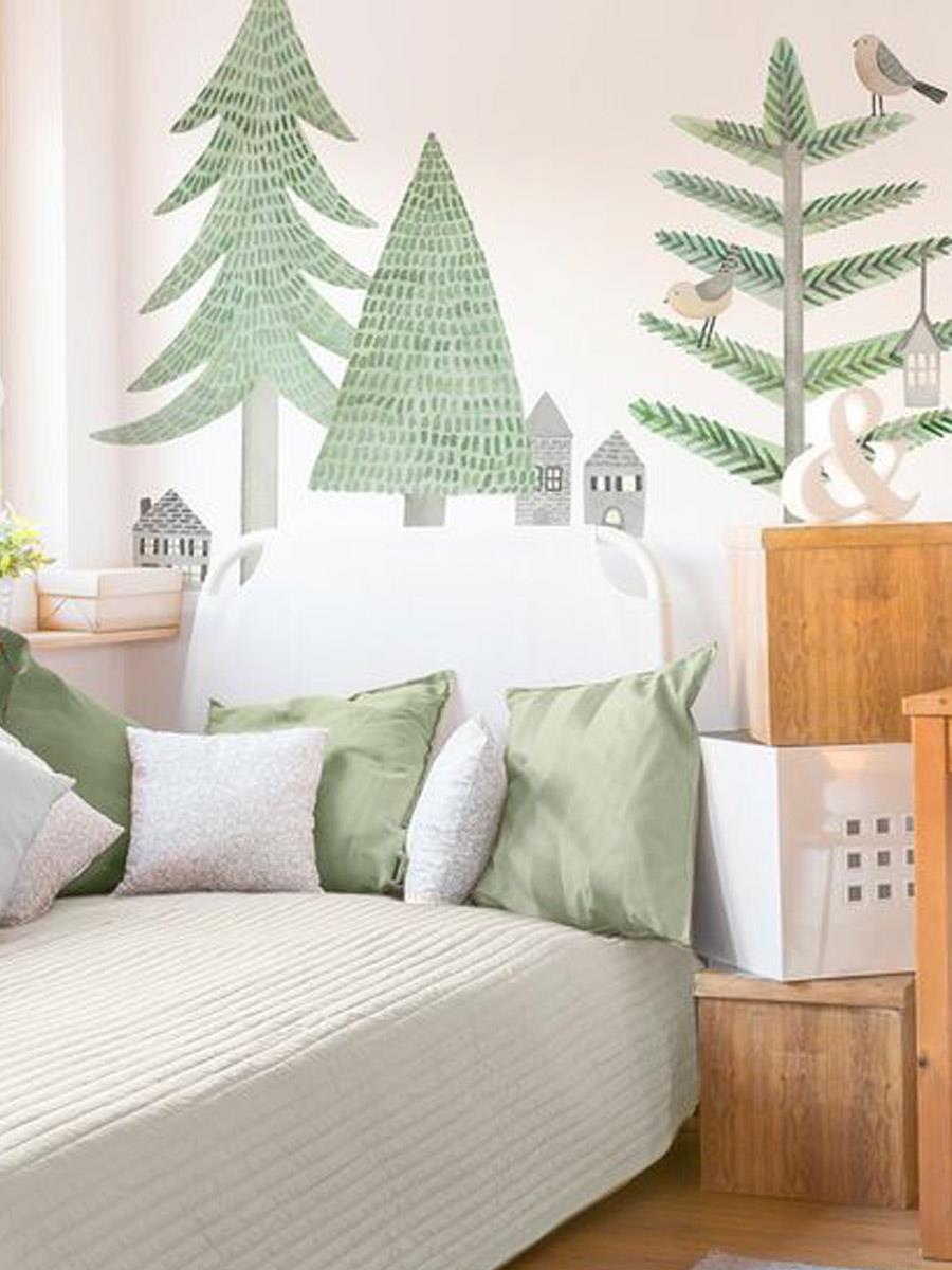 детская комната в лесном стиле