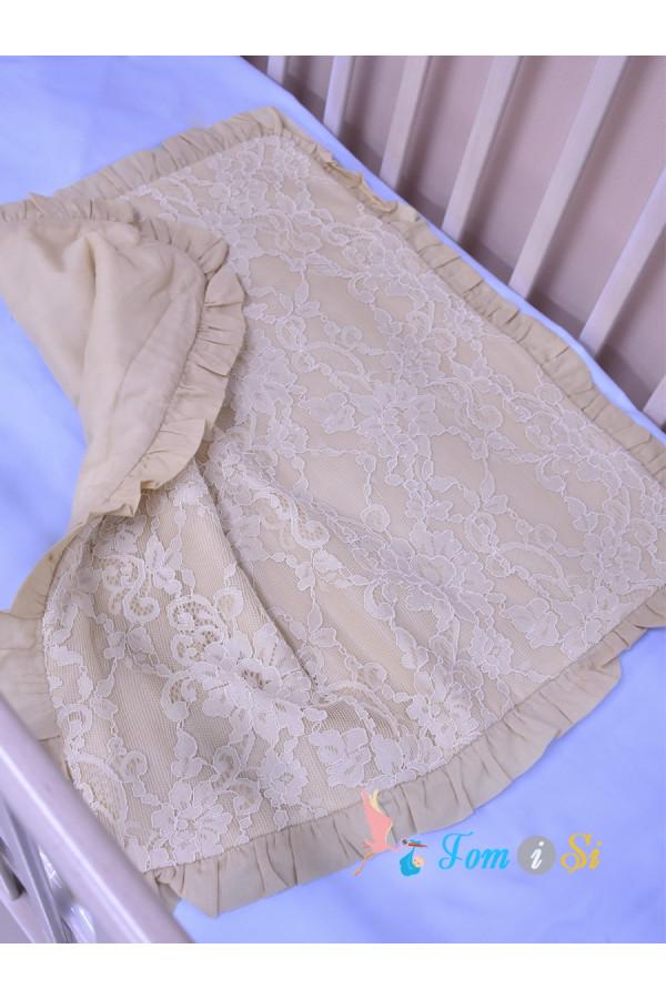 Одеяло в коляску Карамель