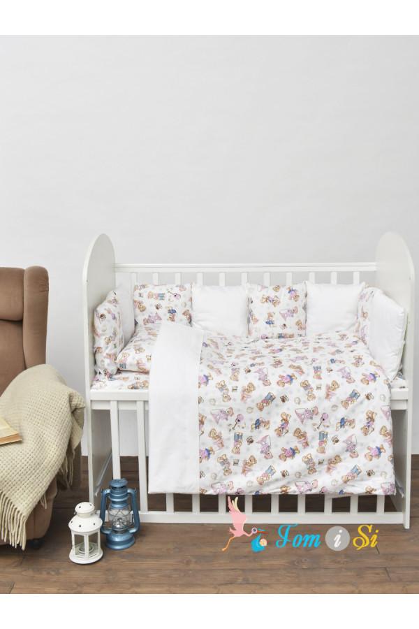 Постельное белье для новорожденного Мишки