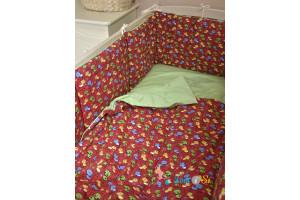 Бортик для детской кроватки