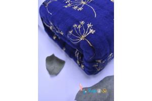 Одеяло из муслина metallic gold deco