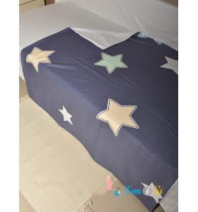 Плед двухсторонний Звезды