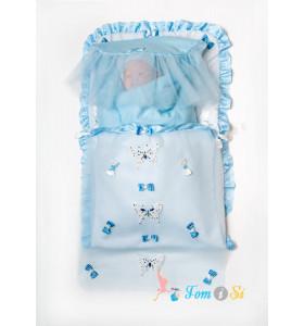 Конверт - одеяло для новорожденного на выписку
