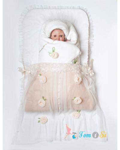 Конверт для новорожденного на выписку