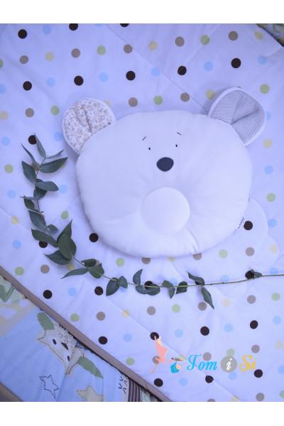 Подушка для новорожденных Мишка