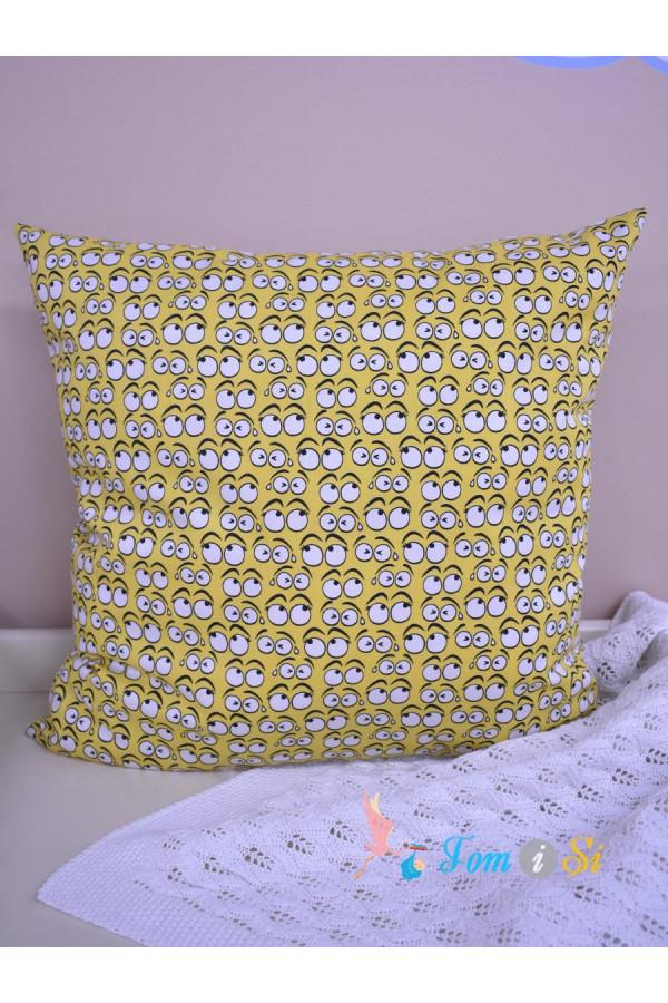 Декоративная подушка Смайлики