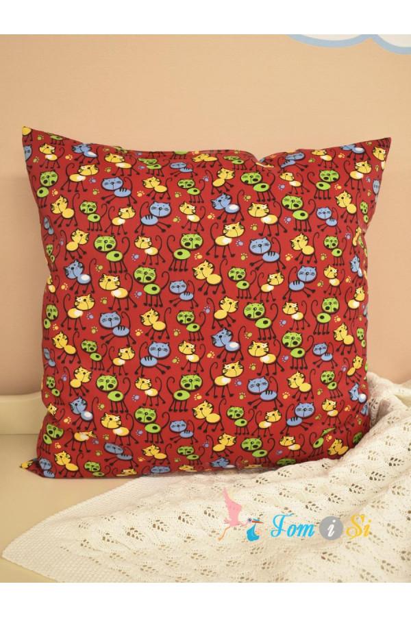 Декоративная подушка Кошки