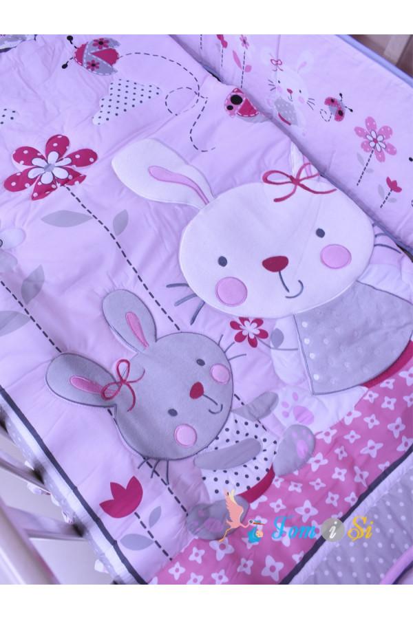 Постельное белье для новорожденных Зайчики